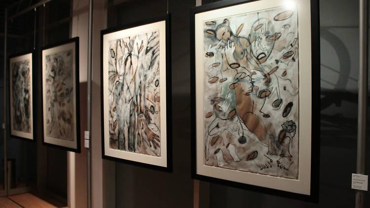 Paisajes olvidados es una muestra surrealista de Ana García Alcocer