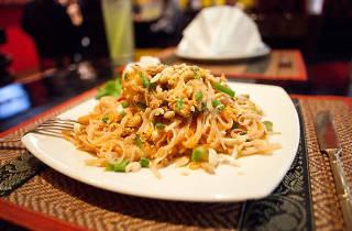 Comida del sudeste de Asia en Bangkok