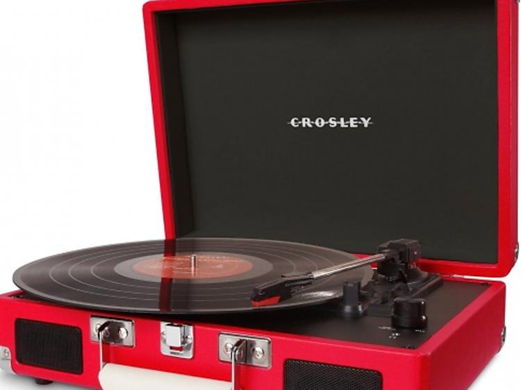 Une platine portative Crosley
