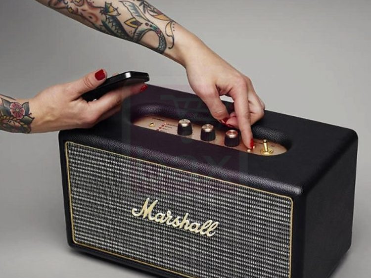 Une enceinte Marshall Stanmore