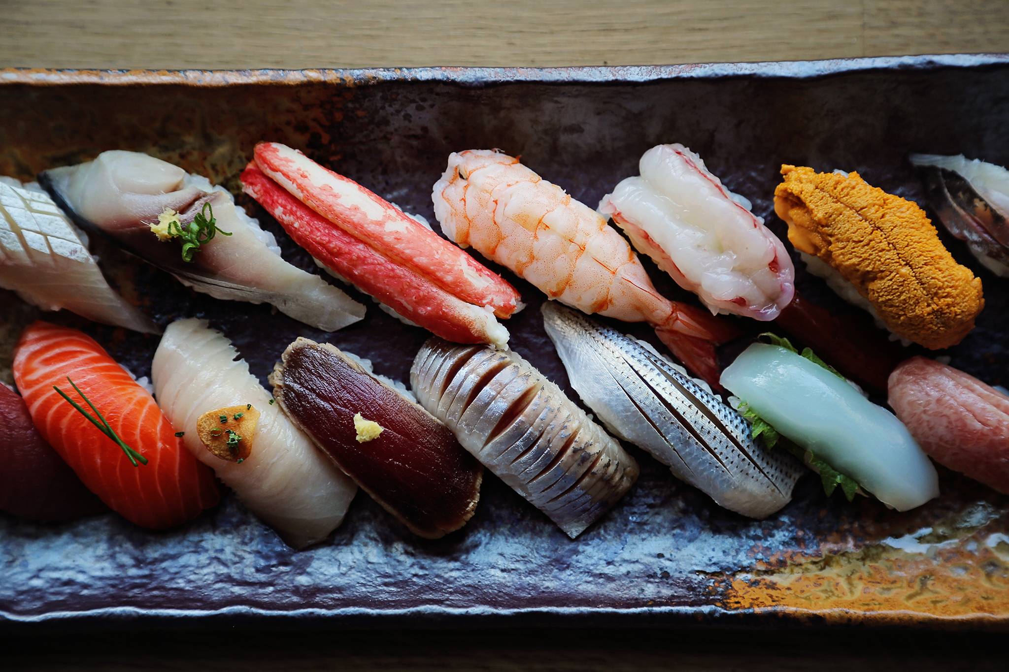Best sushi in new york city from sashimi to nigiri for Sushi fish names