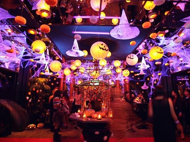 Grand Hyatt Seoul Halloween party 2015