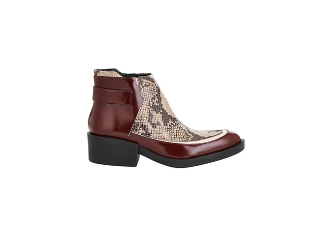 Crawford leather ankle boots by Finery, £135