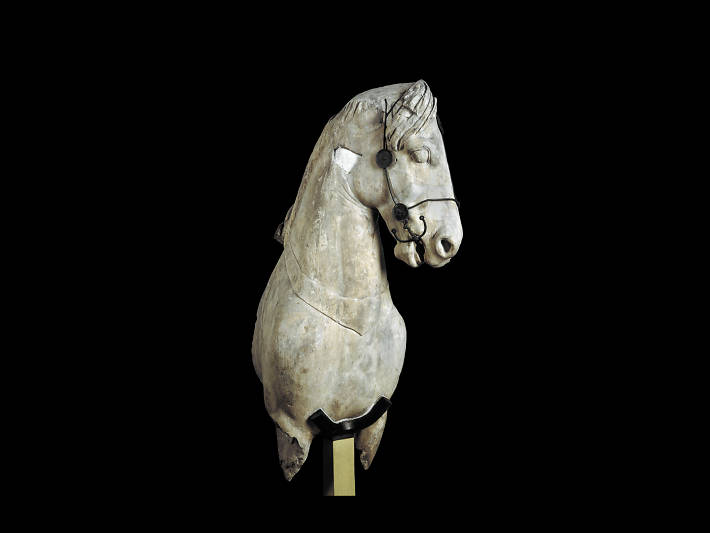 British Museum: Colossal horse