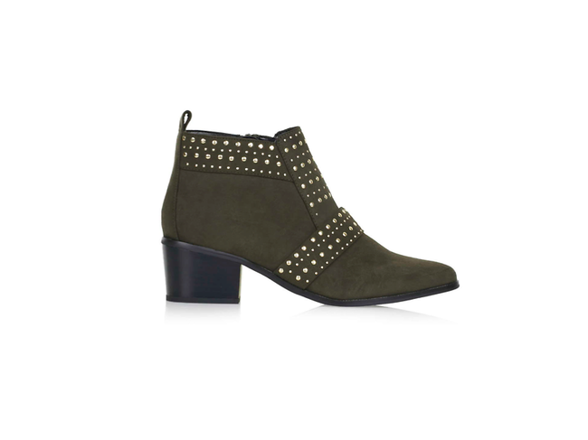Buddy eyelet ankle boots by Topshop, £39