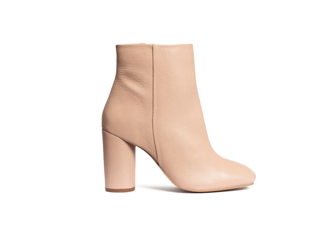 Leather ankle boots by H&M, £59.99