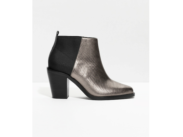 Reptile ankle boots by & Other Stories, £89.99