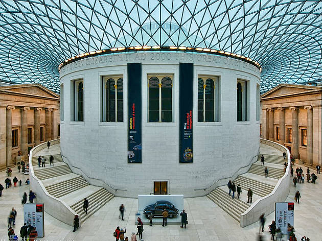 The seven wonders of the british museum the best things for Best museum shops online
