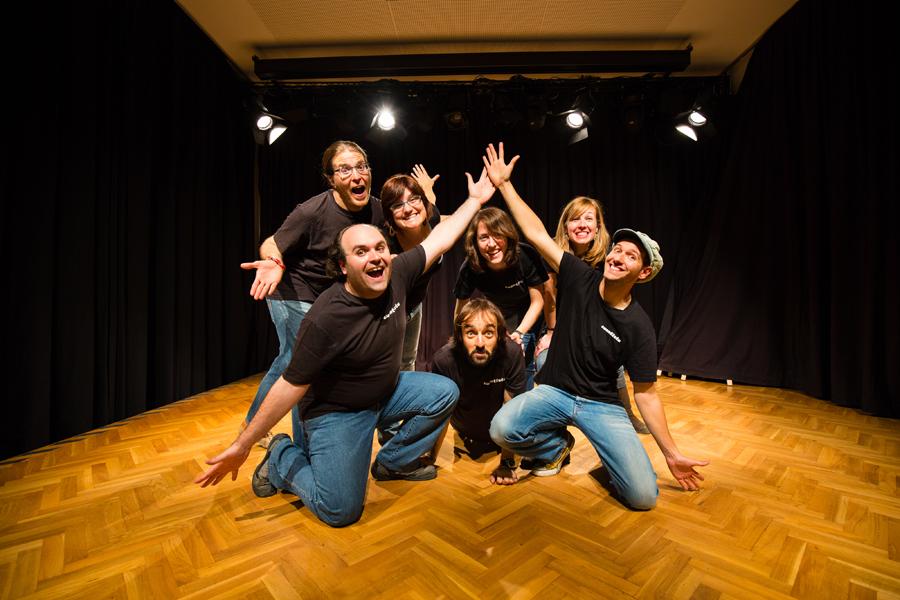 Presentació d'Els quatre porquets - Vivim del Cuentu