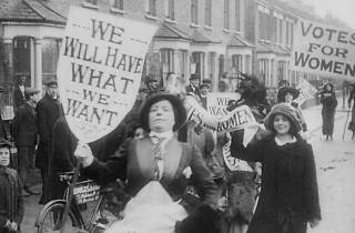 Make More Noise Suffragettes In Silent Film