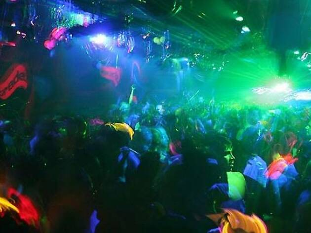 6. Disorganised DJ decadance ruled