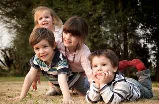 Pyramide d'enfants