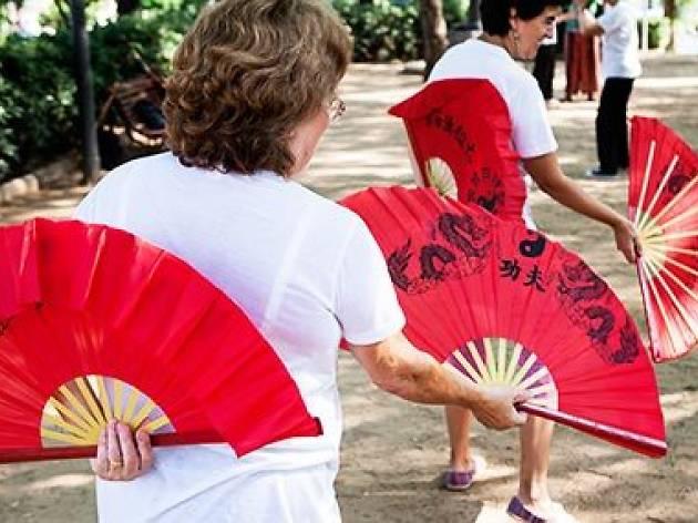Tai-txi i txi-kung als Jardins de la Indústria