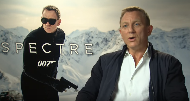 Daniel Craig video interview