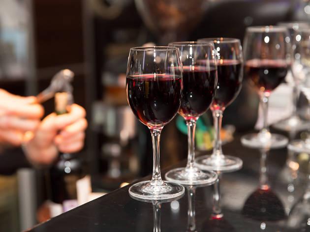 Tapa + vino de Rioja