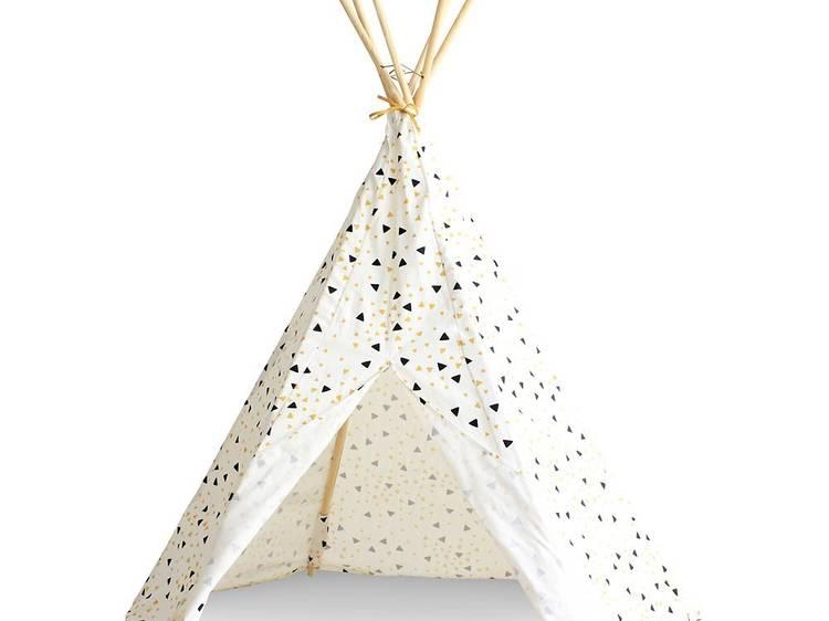 Une tente où se planquer