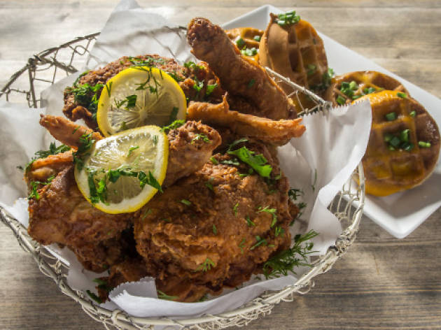 Fried Chicken at Root & Bone, 2014's Best Dish of the Year