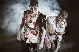 Noche de zombies en el Cabaretito Fusión