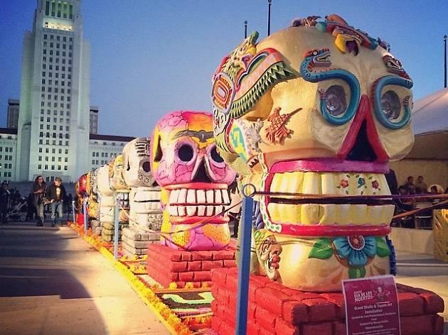 Downtown Día de los Muertos: Altars + Art