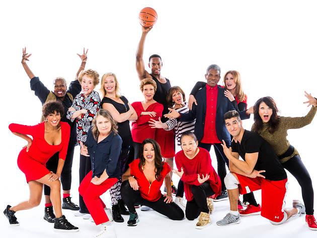 The cast of Gotta Dance