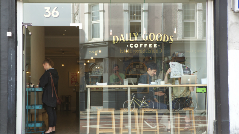 Daily Goods, cafe, Camberwell