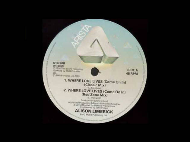 'Where Love Lives' – Alison Limerick