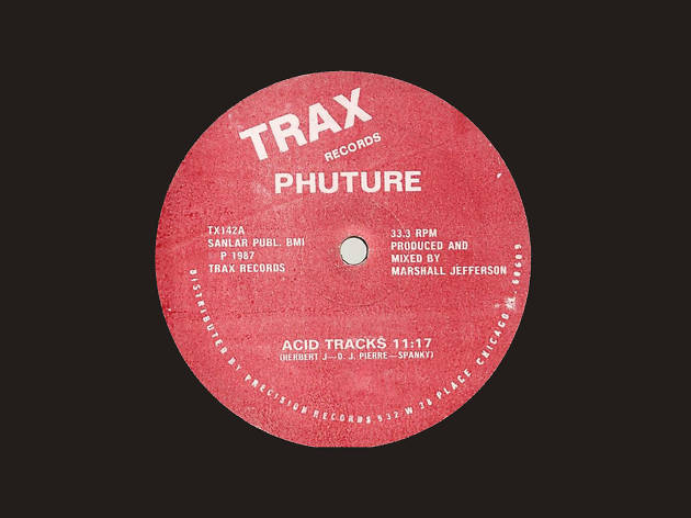 'Acid Trax' – Phuture
