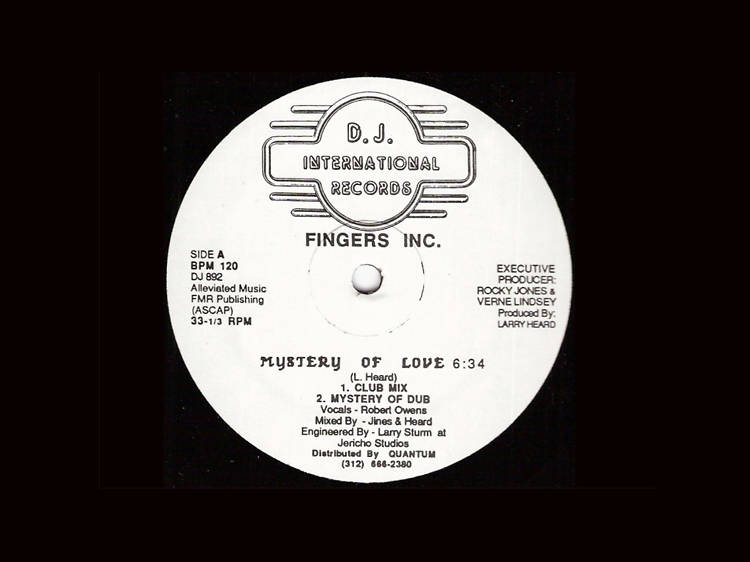 'Mystery of Love' – Fingers Inc.