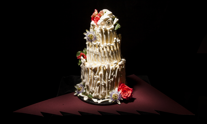 Bone Palace cake from Lily Vanilli