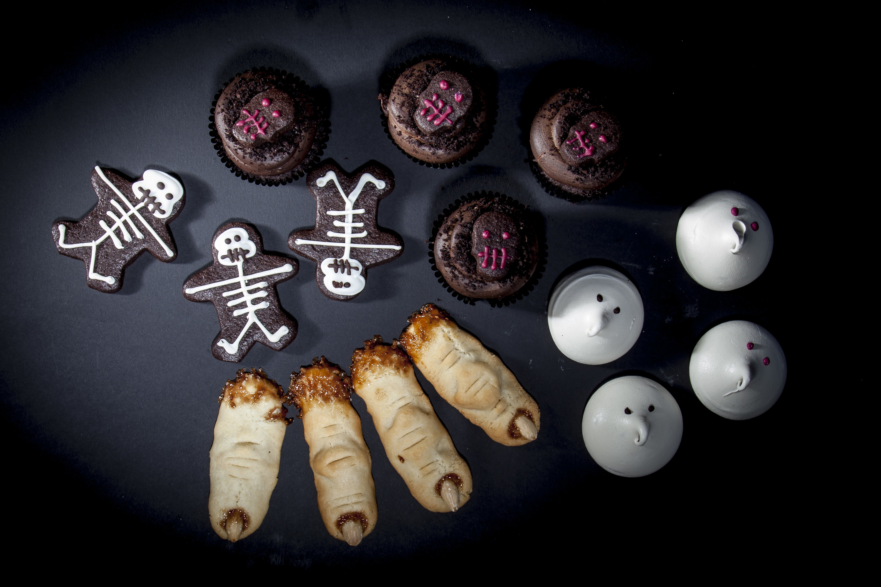 Spooky biscuits from Gail's Artisan Bakery