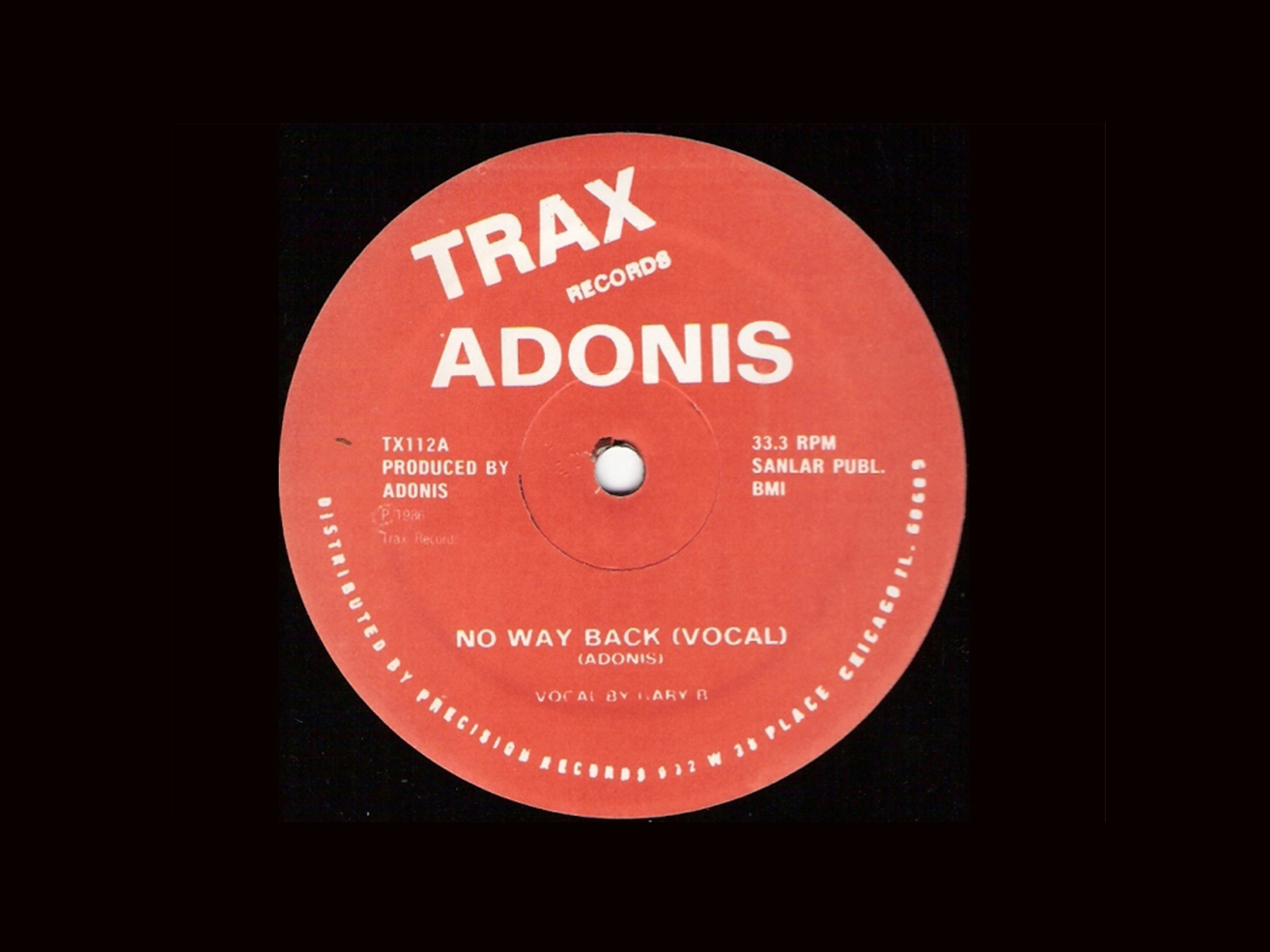 'No Way Back' – Adonis