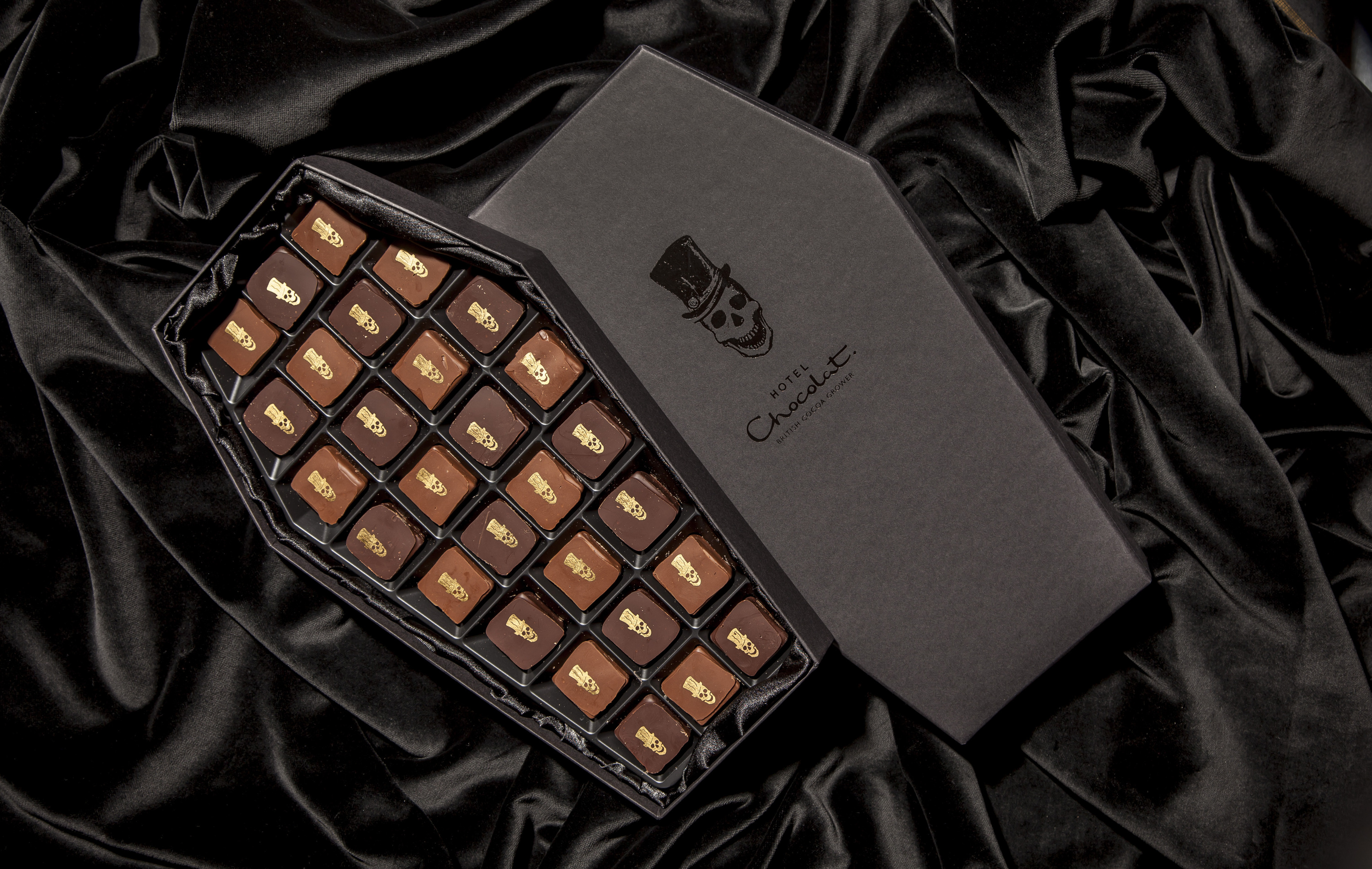 The Coffin Box from Hotel Chocolat