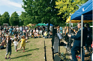 Locals rock out at Westow Park's annual music festival