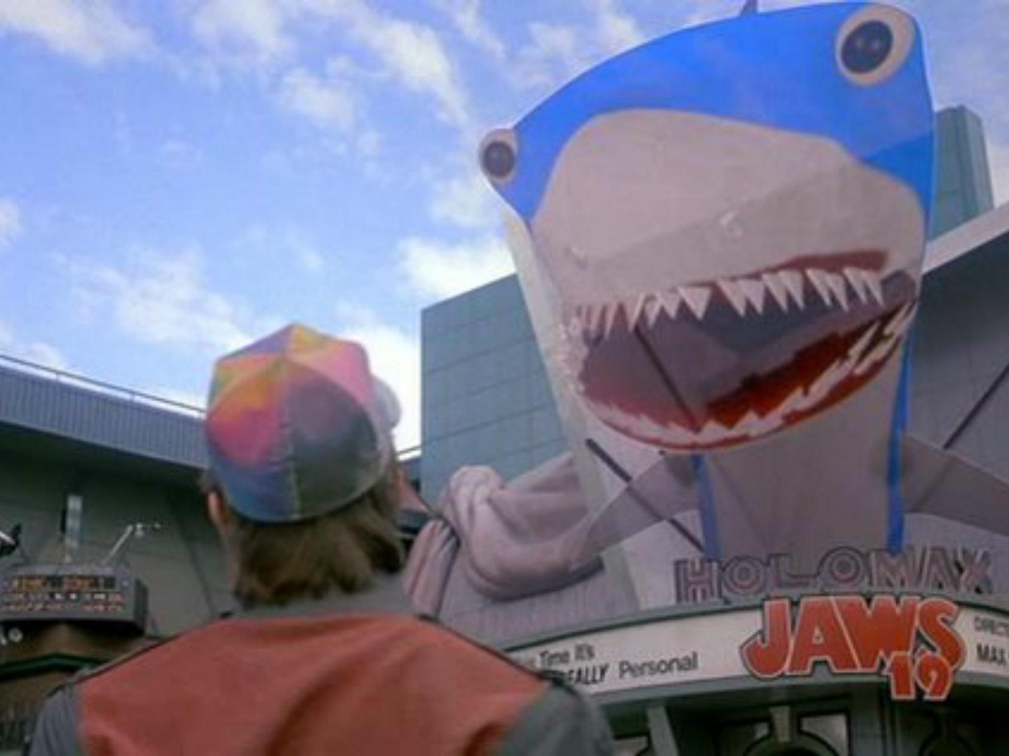 Volver al futuro estreno Jaws