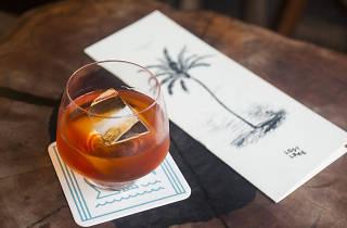 The Cap Haitian Rum and Honey is on Lost Lake's whisper menu.