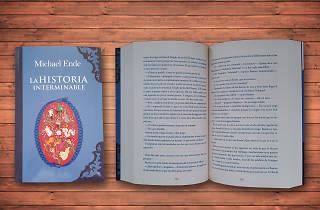 Libro para niños la historia interminable