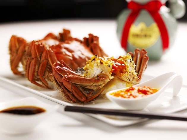Hairy Crab Galore at Min Jiang at One-North