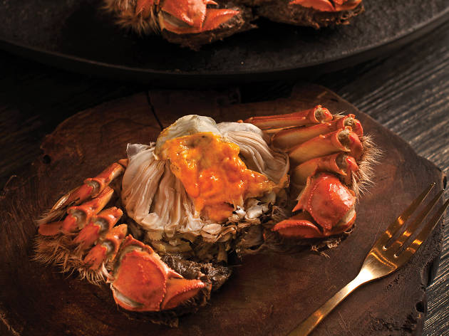 Hairy Crab Delicacies at Crystal Jade's fine dining restaurants