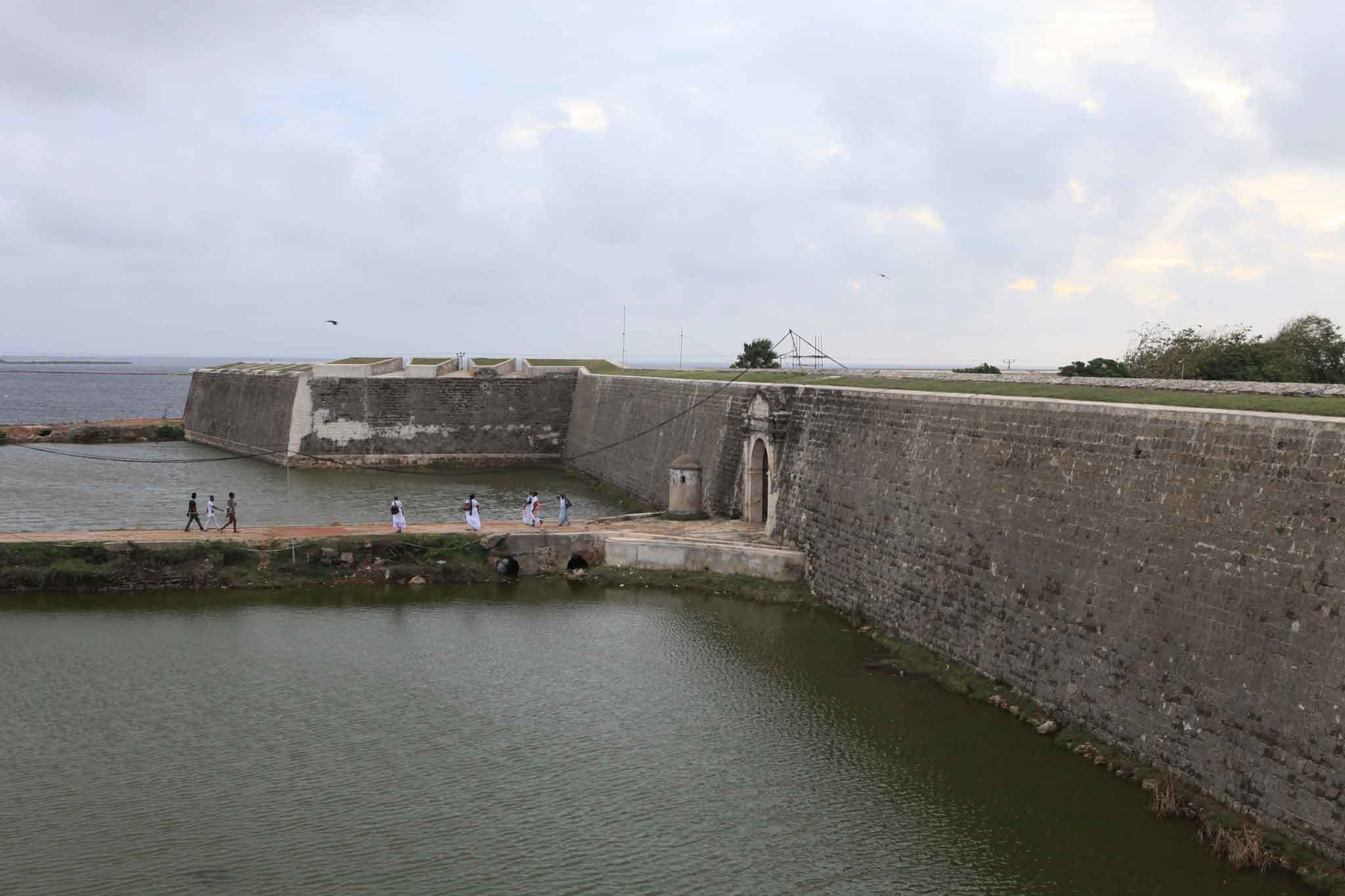 The Jaffna Fort