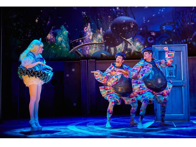 Watch curious adventures in theatreland