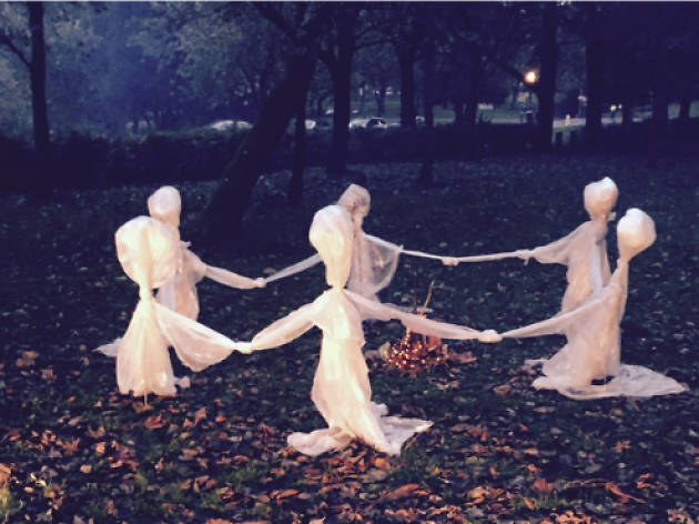 A family spooktacular at Buile Hill Park in Salford