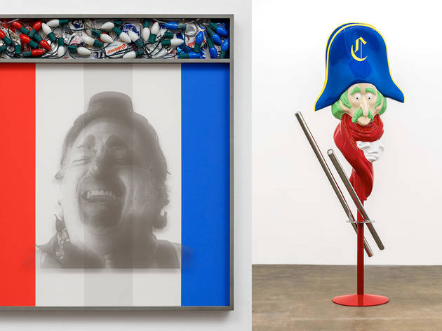 "Kathryn Andrews, ""Hobo (Santa's Helper No. 2)"" and ""Coming to America (Filet-O-Fish)"""