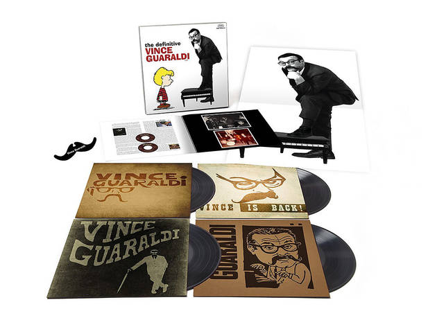 The Definitive Vince Guaraldi 4-LP Box Set