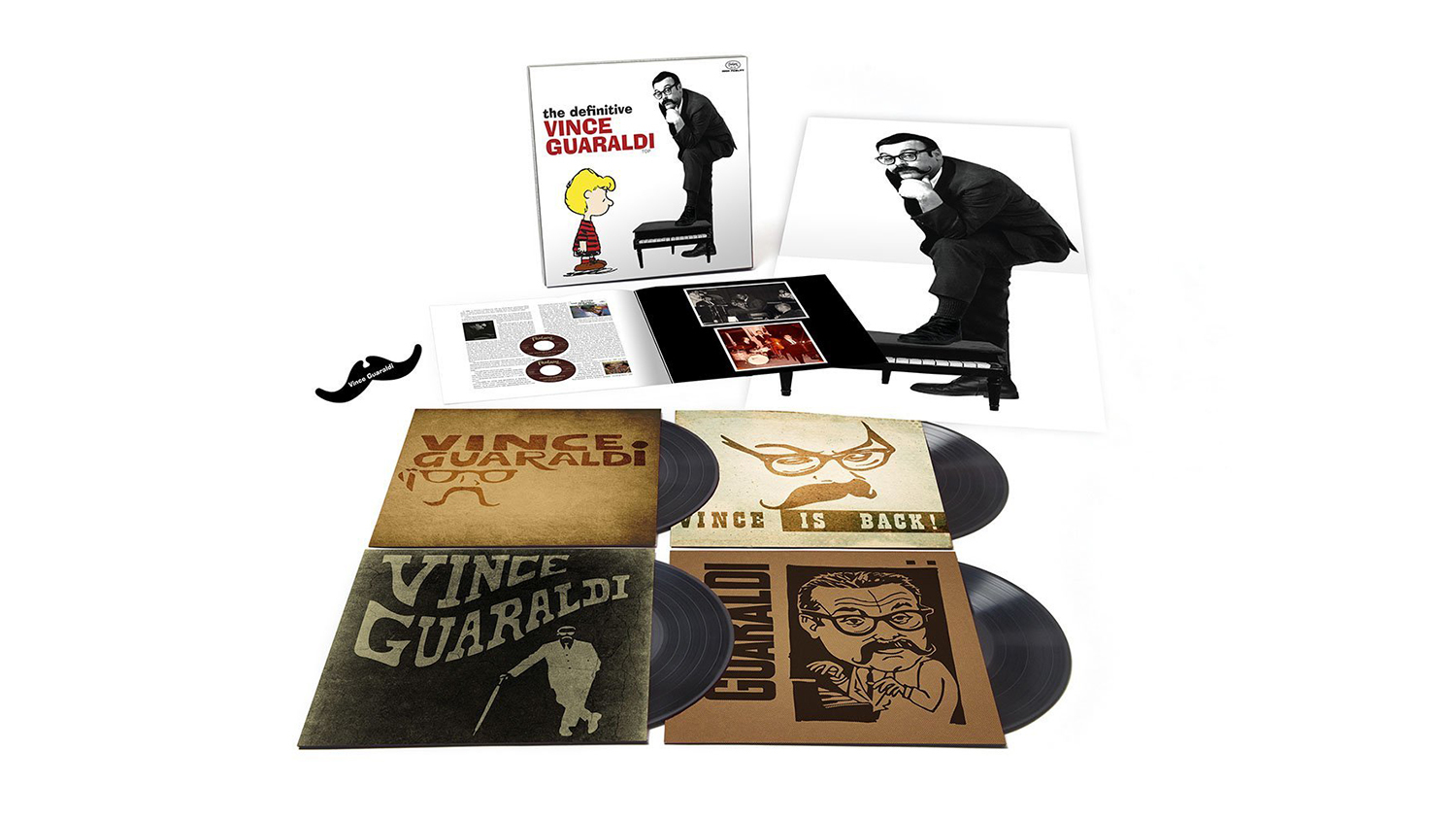 The Definitive Vince Guaraldi 4-LP Box Set