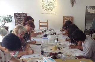 DC Calligraphy workshop for beginners