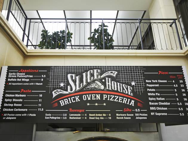 슬라이스 하우스 브릭 오븐 피체리아