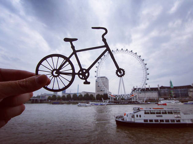 This photographer has transformed London landmarks with paper cutouts