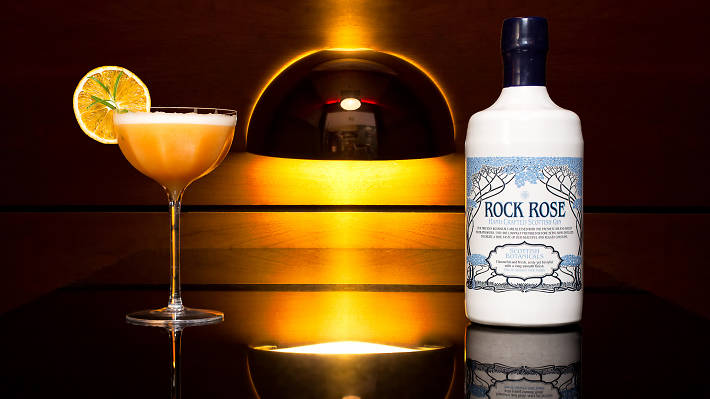 56 north rock rose cocktail