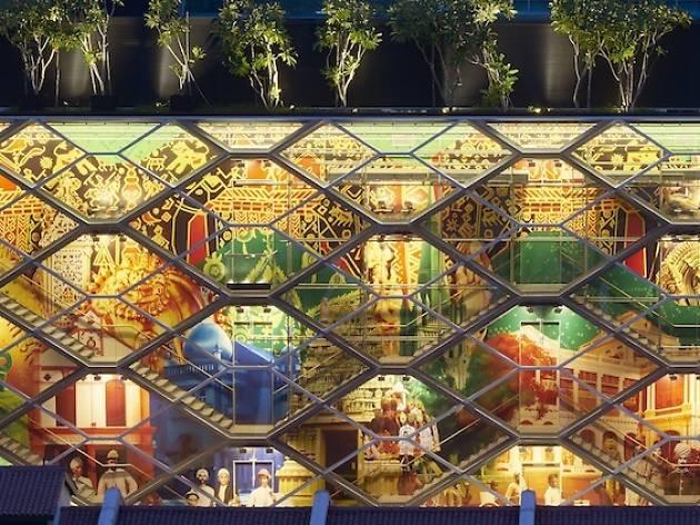 World Architecture Festival Glowing Lantern Building