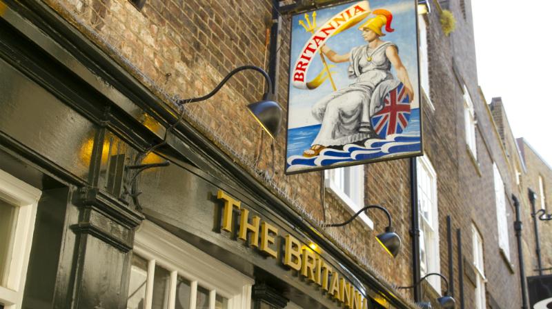 The Britannia pub Richmond 2015